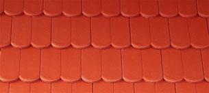 Bramac Reviva Novo rubinvörös tetőcserép