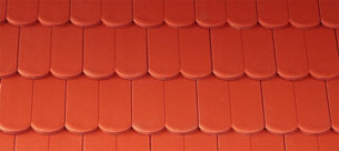 Bramac Reviva Protector rubinvörös tetőcserép