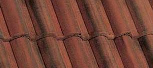 Bramac Római antik tetőcserép