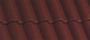 Bramac Római Novo barna tetőcserép