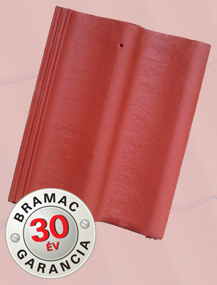 Bramac Duna Lumino vörös tetőcserép