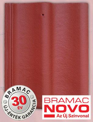 Bramac Duna Novo sötétvörös tetőcserép