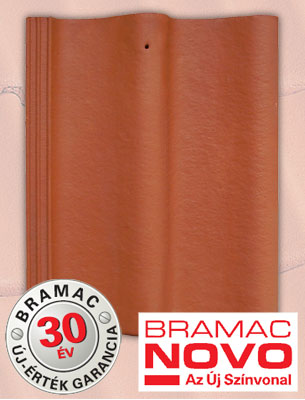 Bramac Duna Novo téglavörös tetőcserép