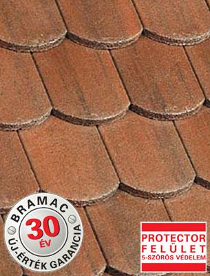 Bramac Hódfarkú Protector antik tetőcserép