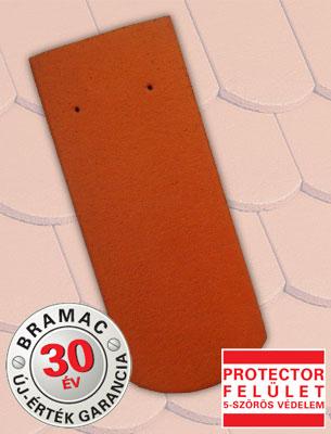 Bramac Hódfarkú Protector téglavörös tetőcserép