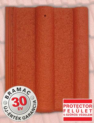 Bramac Montero Protector rubinvörös tetőcserép