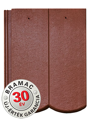 Bramac Reviva Merito Plus barna tetőcserép