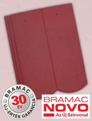 Bramac Reviva Novo sötétvörös tetőcserép