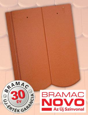 Bramac Reviva Novo téglavörös tetőcserép