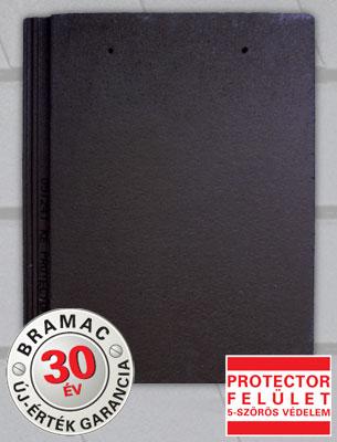 Bramac Tectura Protector ébenfekete tetőcserép