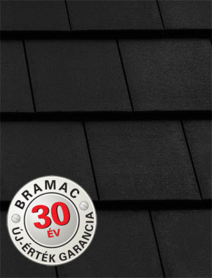 Bramac Tectura Thermo Protector ébenfekete tetőcserép