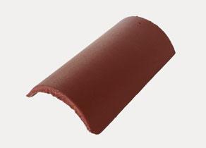 Mediterrán Danubia ColorSystem bordó kúpcserép