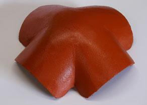 Mediterrán Danubia Resistor korall 4-es elosztó kúpcserép