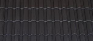 Mediterrán Danubia Resistor carbon tetőcserép