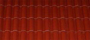 Mediterrán Danubia Resistor merlot tetőcserép