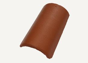 Mediterrán Rundo ColorSystem barna kúpcserép