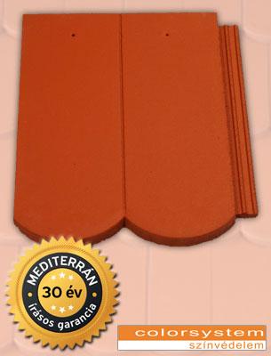 Mediterrán Rundo ColorSystem tégla tetőcserép