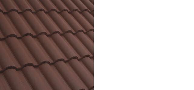 Mediterrán Standard tetőcserép