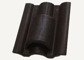 Terrán Danubia Resistor carbon szellőzőcserép