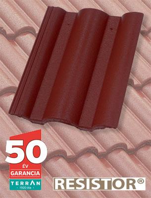 Terrán Danubia Resistor merlot tetőcserép