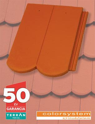 Terrán Rundo Elegant tégla tetőcserép