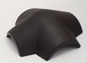 Terrán Synus Elegant fekete 4-es elosztó kúpcserép