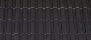 Terrán Danubia Resistor carbon tetőcserép