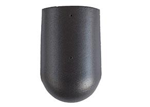 Terrán Zenit ClimaControl space matt kezdő élgerinccserép rögzítőcsavarral és kúprögzítővel