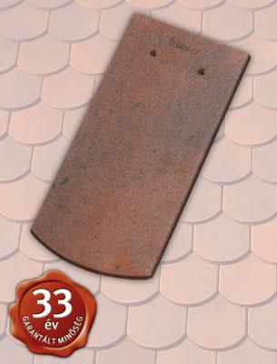 Tondach Hódfarkú szegmensvágású 19x40 antik tetőcserép