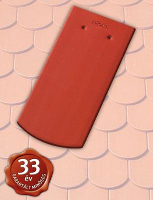 Tondach Hódfarkú szegmensvágású 19x40 piros tetőcserép