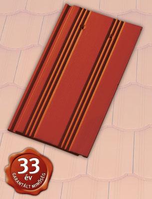 Tondach Hornyolt egyenesvágású piros tetőcserép