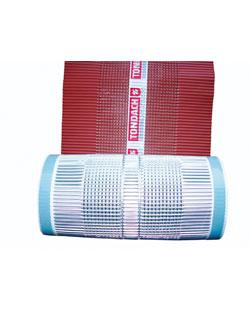 Tondach gerinc/él/élgerinc lezárószalag (alumínium) 280 mm