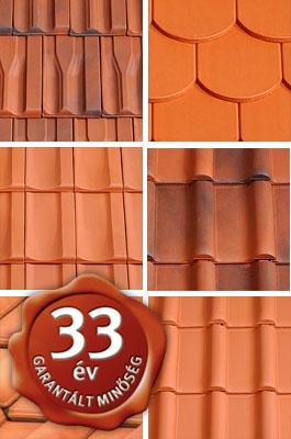 33 év garancia a Tondach tetőcserepekre
