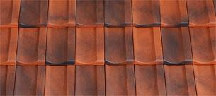 Tondach Bolero piros antik tetőcserép