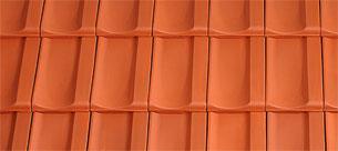 Tondach Bolero piros tetőcserép