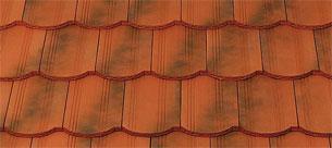 Tondach Hornyolt egyenesvágású antik tetőcserép
