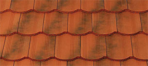 Tondach Hornyolt hullámos ívesvágású antik tetőcserép