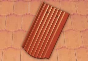 Tondach Hornyolt hullámos ívesvágású tetőcserép