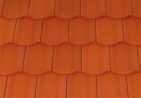 Tondach Hornyolt ívesvágású tetőcserép