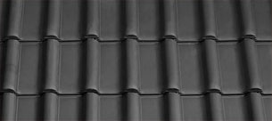 Tondach Rumba fekete tetőcserép