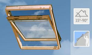 Velux GGL Tetőtéri ablak