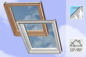 Velux GIL/GIU Tetőtéri ablak