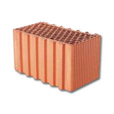 Porotherm nútféderes (N+F) tégla
